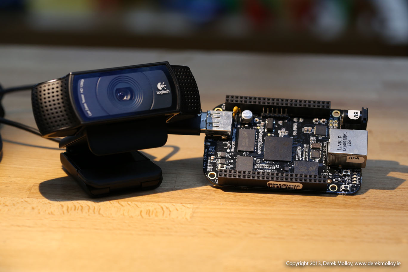 Capturing Images and Video on the Beaglebone | derekmolloy ie