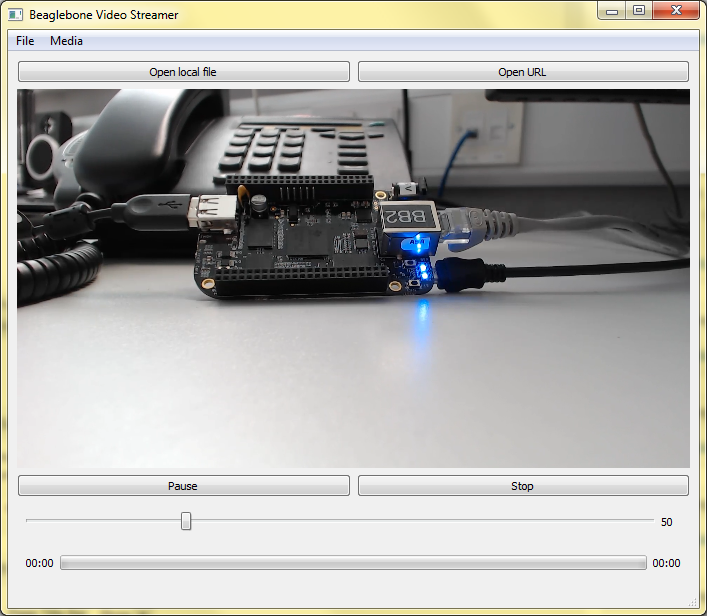 Custom Qt UDP/RTP Video Streaming Application | derekmolloy ie