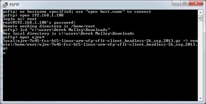 Running Java Applications on the Beaglebone Black